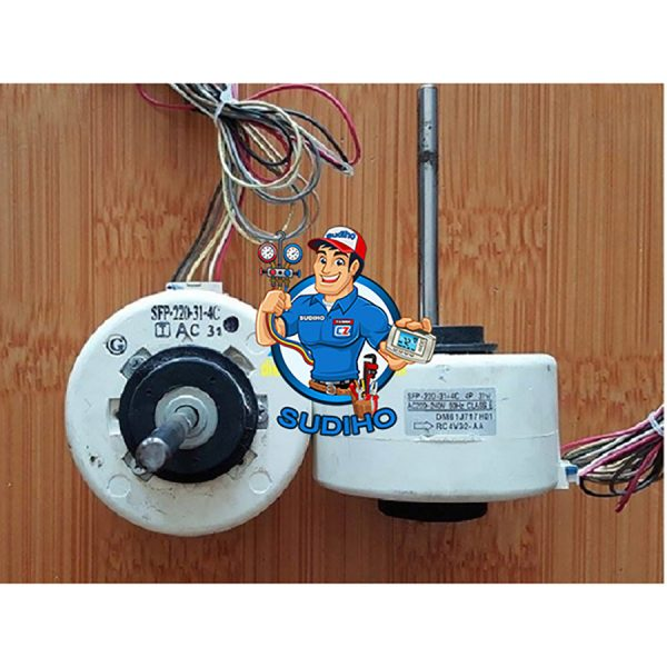 Quạt Lạnh Điều Hòa Mitsubishi Electric Cốt Dài Xung 3