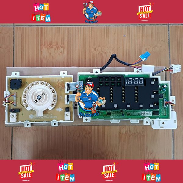 Bo Mạch Hiển Thị Máy Giặt LG WD-14660