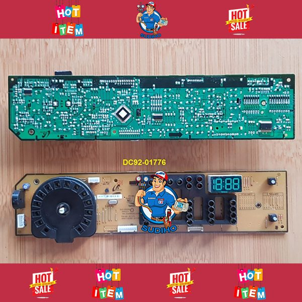 Bo Mạch Hiển Thị Máy Giặt Samsung Mã DC92 01776