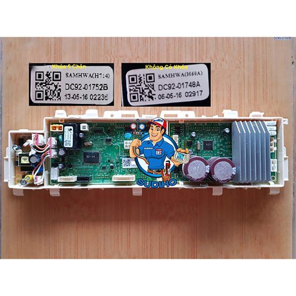 Bo Mạch Nguồn Máy Giặt Samsung Inverter Mã DC92 01752 01748