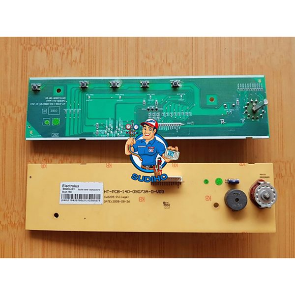 Bo Mạch Hiển Thị Máy Giặt Electrolux EWT-705 EWT-905 EWT-115