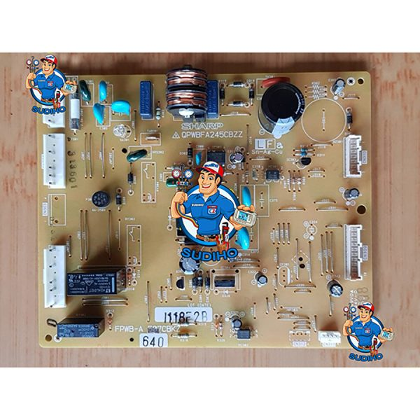 Bo Mạch Tủ Lạnh Sharp SJ-T555-SL K65MK2-HS P70MK2-HS