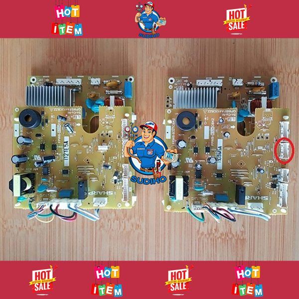 Bo Mạch Công Suất Tủ Lạnh Sharp Inverter SJ-XP400PG XP430PG