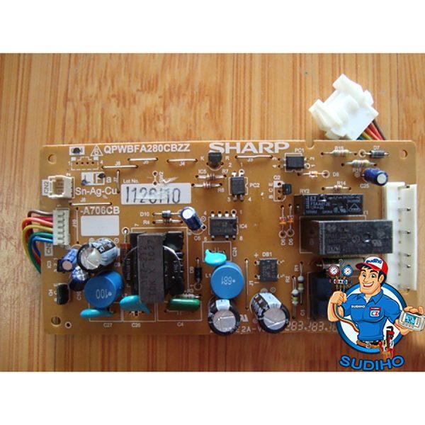 Bo Mạch Tủ Lạnh Sharp SJ1880 SJ16VF1 SJ165S SJ18VF2