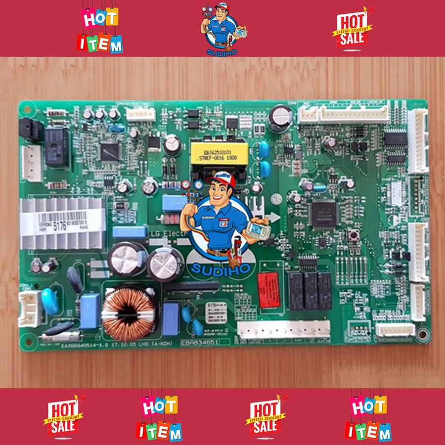 Bo Mạch Điều Khiển Tủ Lạnh LG Mã EBR83465176