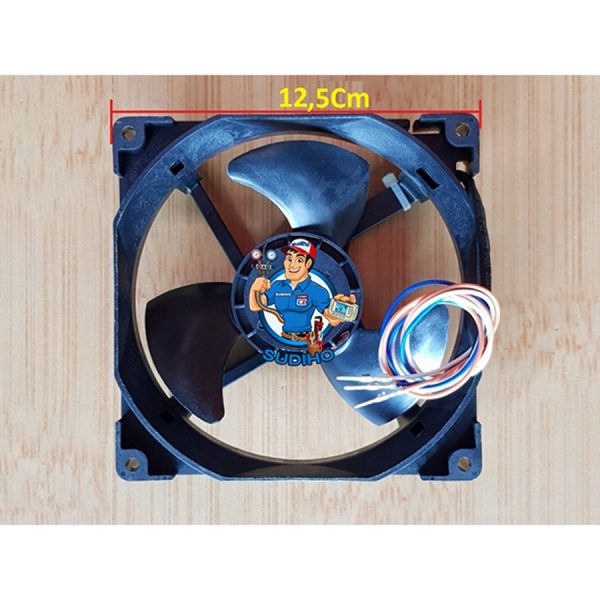 Quạt Tủ Lạnh Hitachi 3 Phase 3 Dây 12.5 Cm