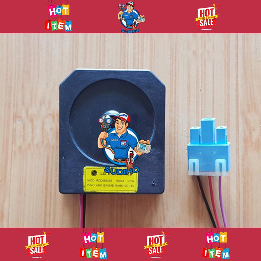 Quạt Tủ Lạnh 9VDC 15VDC Trục 6.9 Cm