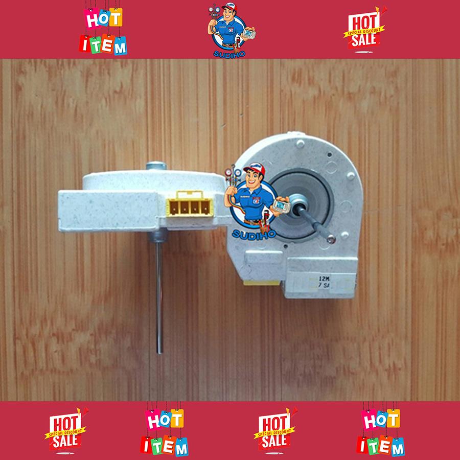 Quạt Lạnh Tủ Lạnh Đúc Khối 12VDC 15VDC Quay Ngược