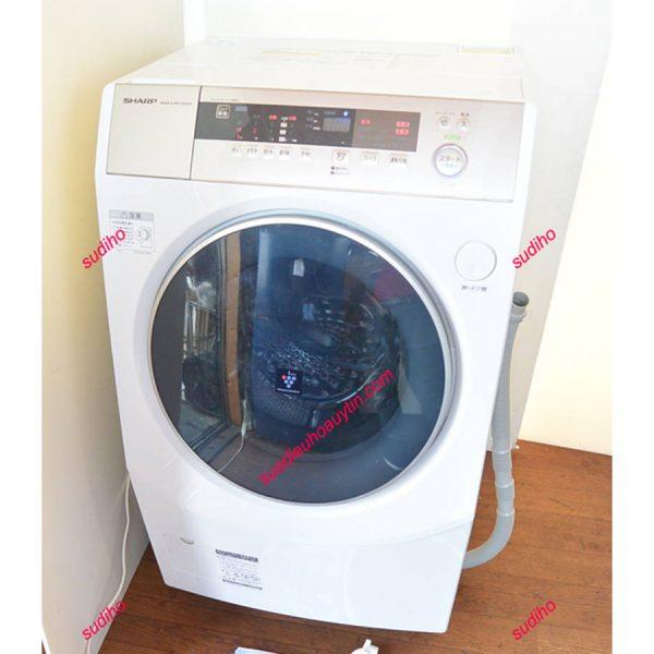 Máy Giặt Sharp Nhật ES-ZH1-WL-10Kg-2017