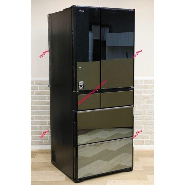 Tủ Lạnh Hitachi R-WX62J-X-615L Nội Điạ Nhật