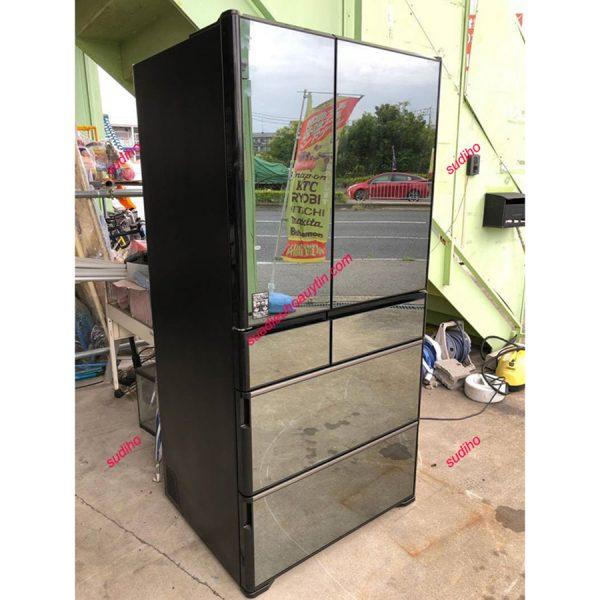 Tủ Lạnh Hitachi R-WX7400G-735L Nội Địa Nhật