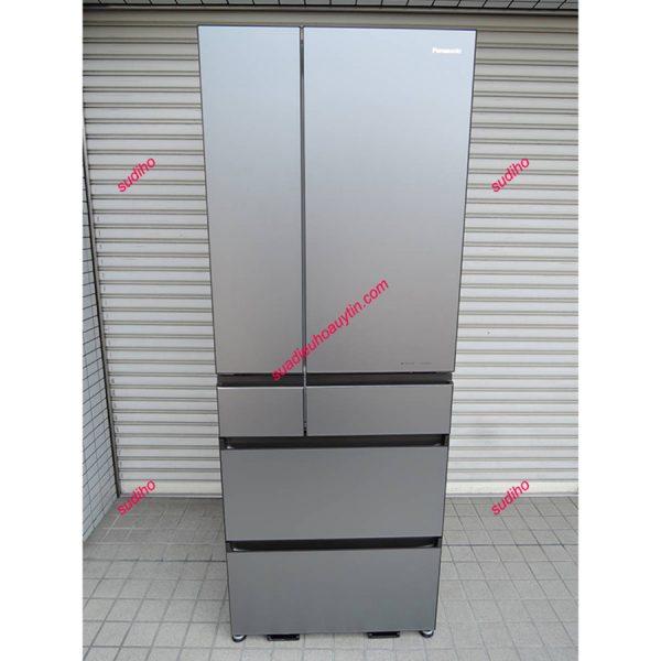 Tủ Lạnh Panasonic Nhật NR-F604WPX-H-600L-2018