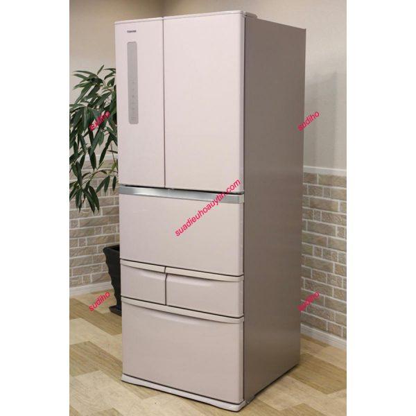 Tủ Lạnh Toshiba Nhật GR-G48FS-481L-2014