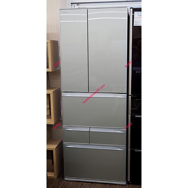 Tủ Lạnh Toshiba Nhật GR-G56FXV-ZS-556L-2014