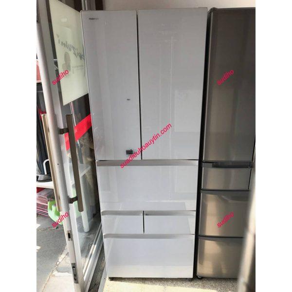 Tủ Lạnh Toshiba GR-J510FV-508L Nội Địa Nhật