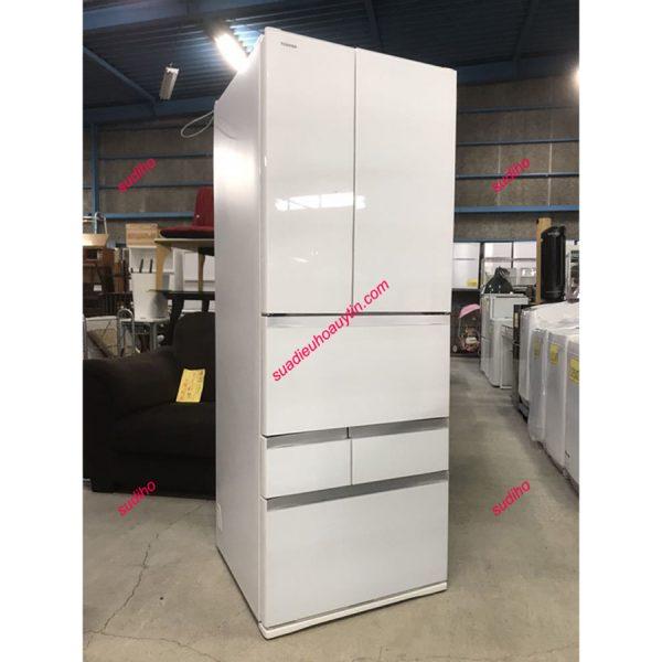 Tủ Lạnh Toshiba GR-P550FW-551L Nội Địa Nhật