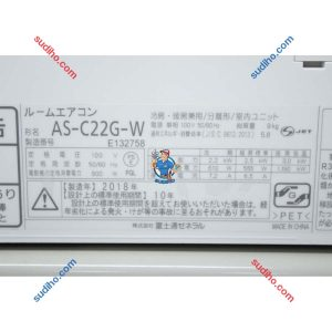 Điều Hòa Nội Địa Nhật Fujitsu AS-C22G-W Inverter 2 Chiều