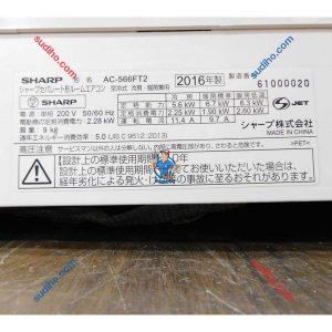Điều Hòa Nội Địa Nhật Sharp AC-566FT2 Inverter 2 Chiều