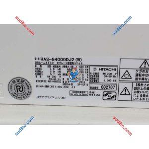Điều Hòa Hitachi Nội Địa Nhật RAS-G4000DJ2(W) Inveter 2 Chiều