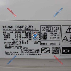 Điều Hòa Hitachi Nội Địa Nhật RAS-D56F2 Inveter 2 Chiều
