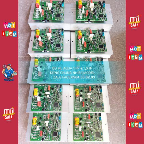 Bo Máy Lạnh Aqua 1HP 1.5HP Dùng Chung Model