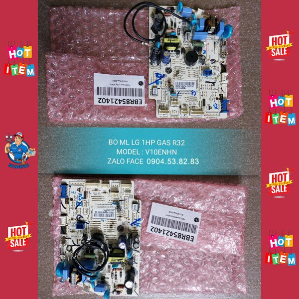 Bo Mạch Dàn Lạnh Điều Hòa LG Gas R32 V10ENHN