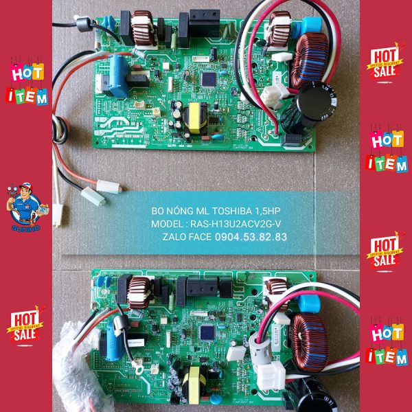 Bo Nóng Điều Hòa Toshiba 1.5HP RAS-H13U2ACV2G-V