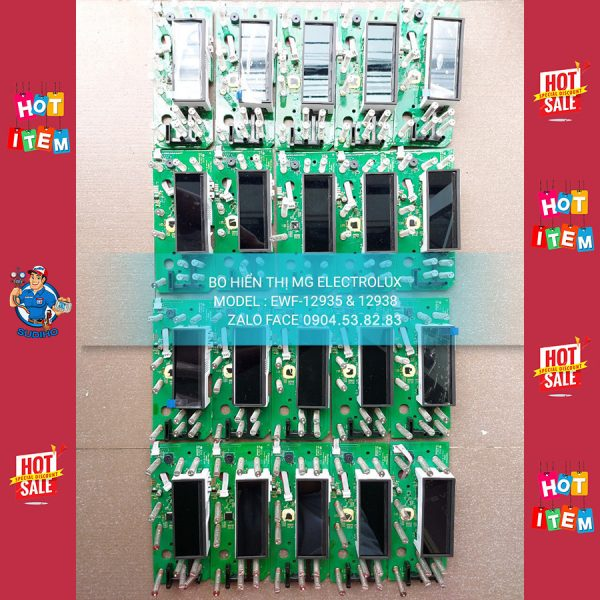 Bo Hiển Thị Máy Giặt Electrolux EWF-12935 12938