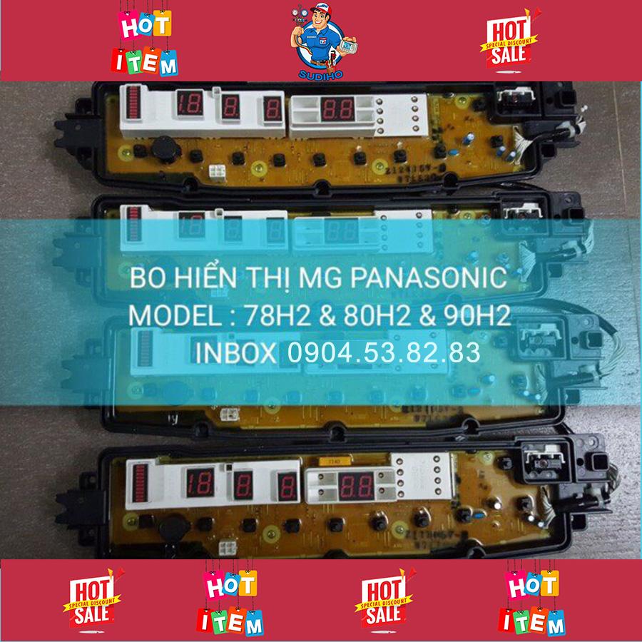 Bo Hiển Thị Máy Giặt Panasonic 78H2 80H2 90H2
