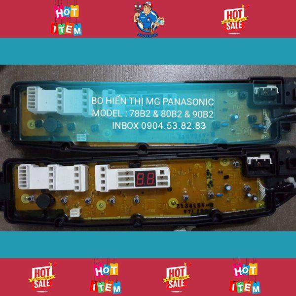 Bo Hiển Thị Máy Giặt Panasonic Model 78B2 80B2 90B2