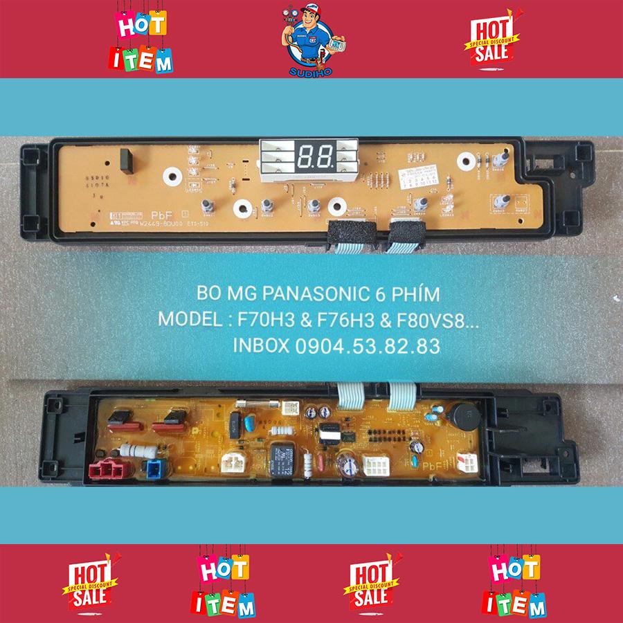 Bo Máy Giặt Panasonic 6 Phím F70H3 F76H3 F80VS8