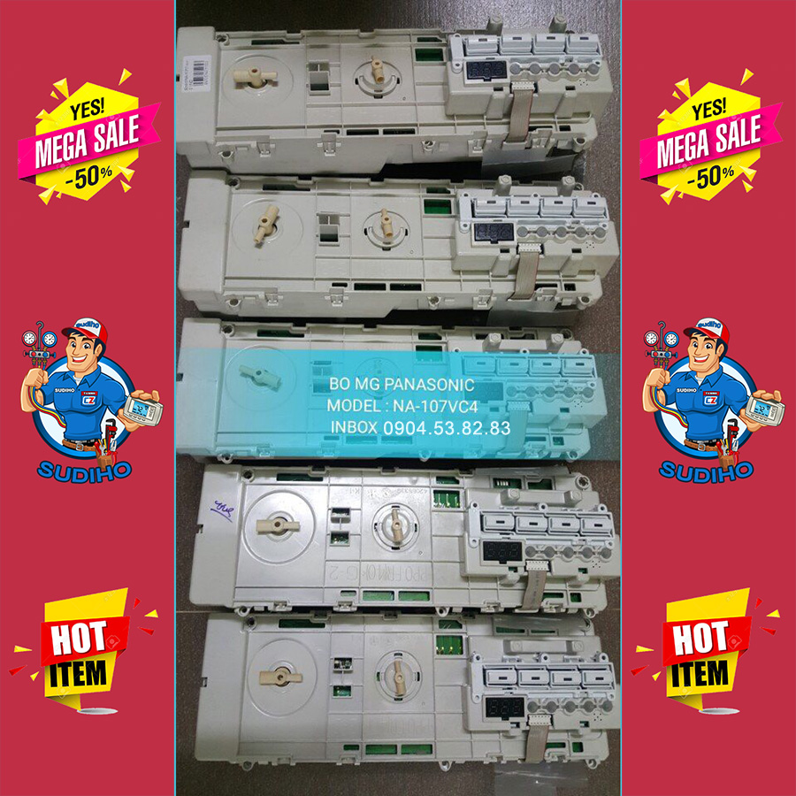 Bo Máy Giặt Panasonic Model NA-107VC4