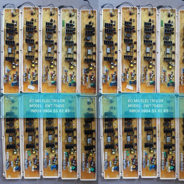Bo Mạch Máy Giặt Electrolux Model EWT-754SS