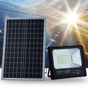 Đèn Năng Lượng Mặt Trời Solar Light 100W