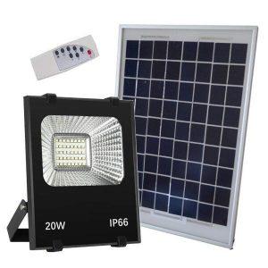 Đèn Năng Lượng Mặt Trời Solar Light 20W